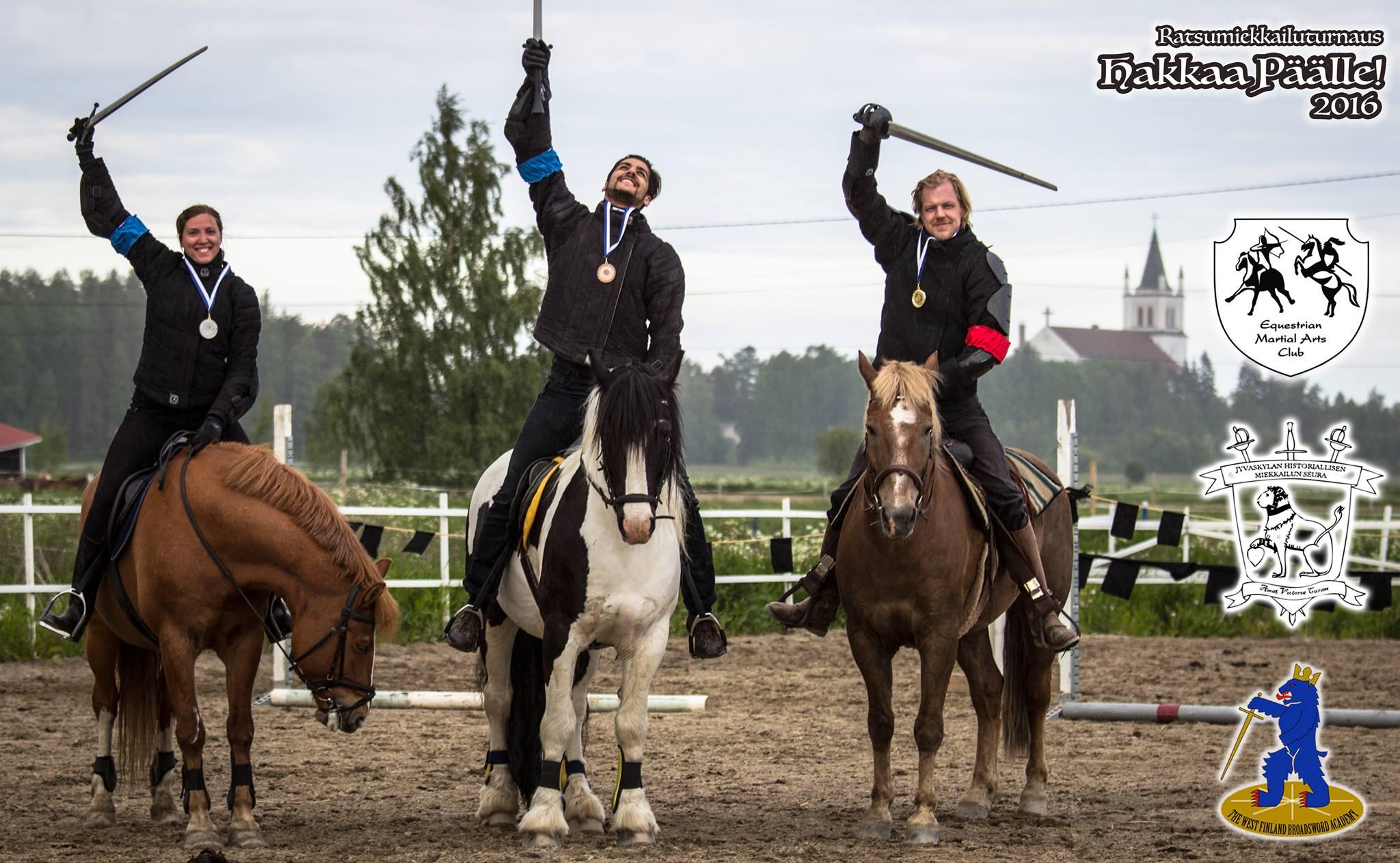 Ratsumiekkailuturnaus Hakkaa Päälle 2016