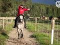 EMAC viikkotreeni, ratsastusjousiammunta, Eija & Touho
